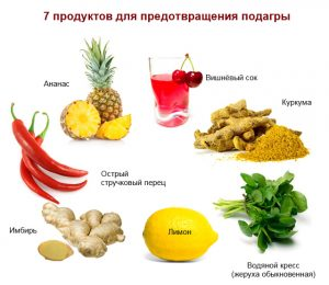 Diet for gout