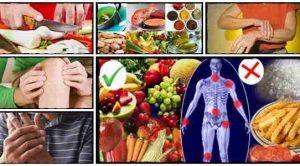 Диета при заболеваниях суставов