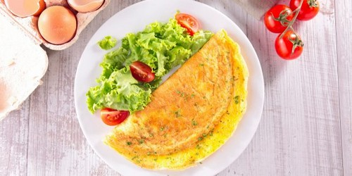 Only one ingredient will make an omelet unusually airy