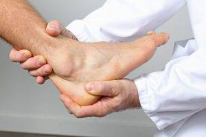 Treatment of arthritis of the ankle joint