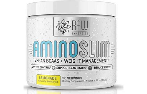 10. AMINO SLIM – Slimming BCAA Weight Loss Drink For Women, Vegan Amino Acids & L-Glutamine Powder for Post Workout Recovery & Fat Burning