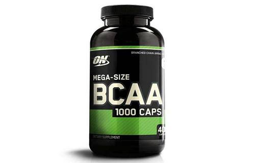 2. Optimum Nutrition Instantized BCAA Branched Chain Essential Amino Acids Capsules