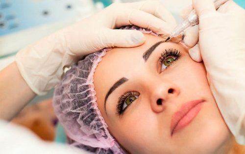 Headache above the eyebrows reason