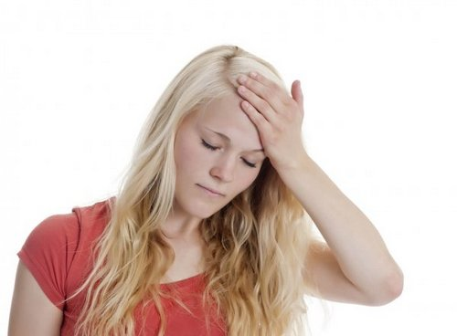 Headache in the forehead treatment causes