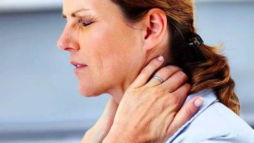 Pain in left side in neck causes treatment