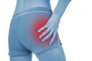 Why when sitting pain in hip joints