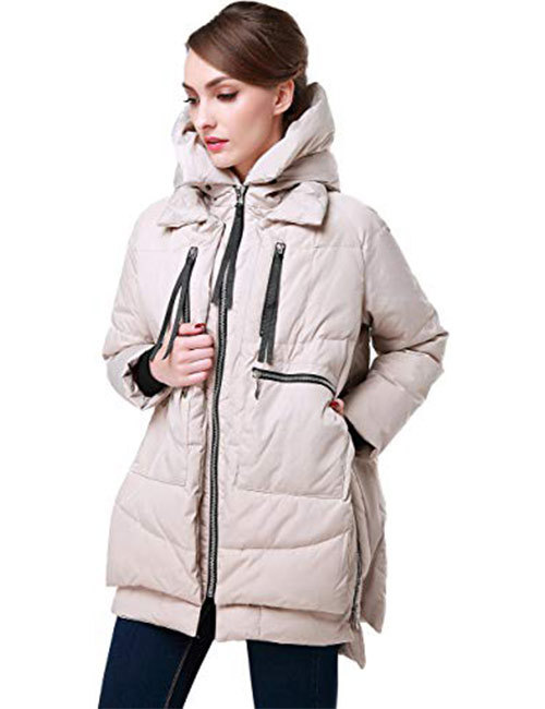 2. Orolay Thickened Down Jacket