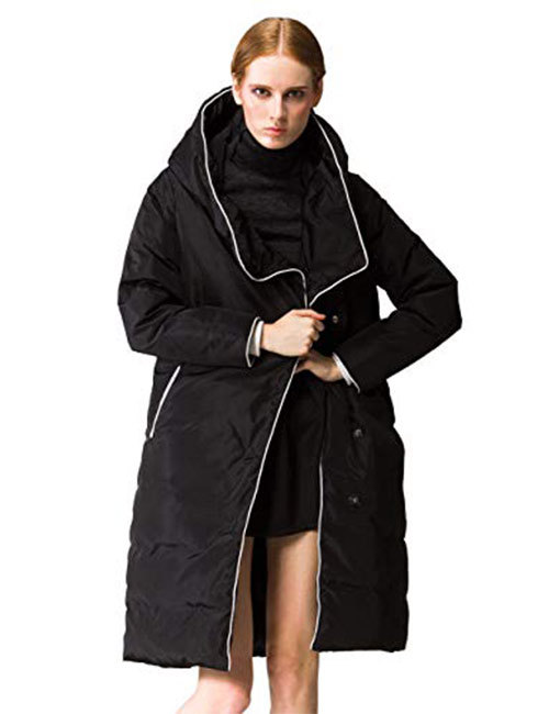 6. Orolay Women's Thickened Jacket With Hood