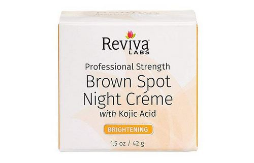 2. Reviva Labs Professional Strength Brown Spot Night Creme