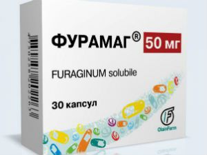 Furamag for the treatment of cystitis