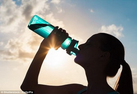 'I always recommend keeping yourself fully hydrated throughout the day,' Dr Mahto says