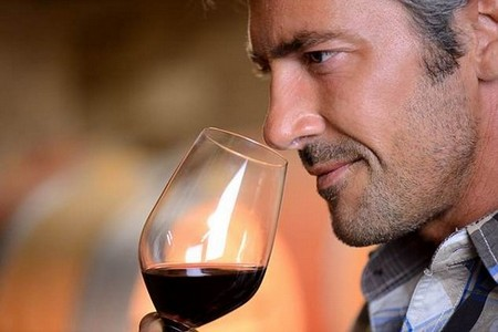 One glass of red wine a day slashes men's risk of prostate cancer by around 12 per cent (stock)