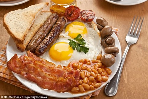 Skip the Full English: While it might  be tempting, this plate of food does more harm than good
