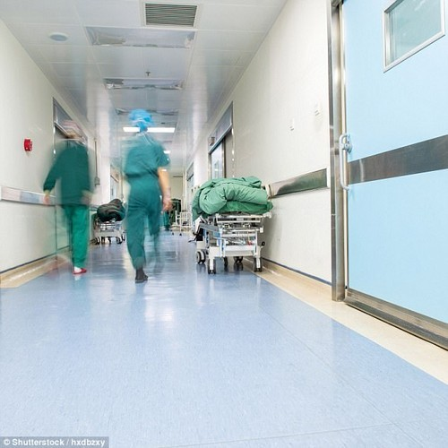 Hospitals are on average 95 per cent occupied, well above the safe level of 85 per cent