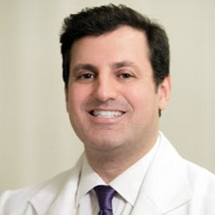 """'We do a lot of Botox - or """"Brotox"""", for lack of a better word,' Dr Norman Rowe said"""