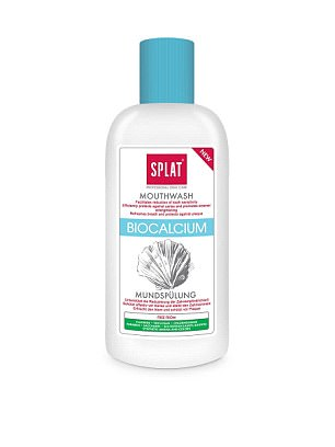 Splat Biocalcium Mouthwash, £3.75:Enamel restoration is more of a marketing ploy than an accurate description of what these products really do