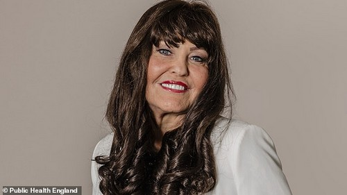 TV presenter and entrepreneur Hilary Devey, a former investor on Dragon's Den, appears in a film to support the new advert