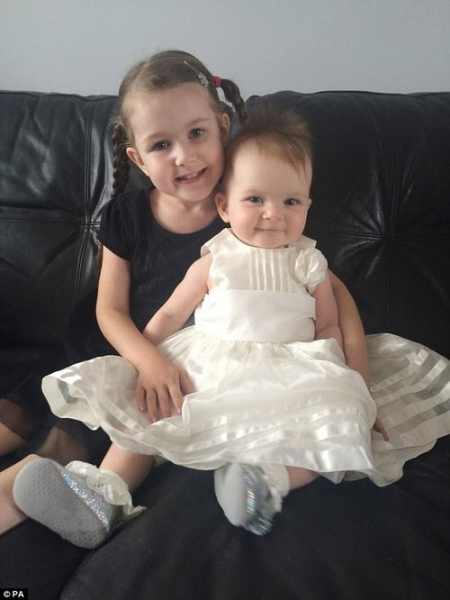 After defying the odds to reach several milestones, sister Mia was born with the same disorder