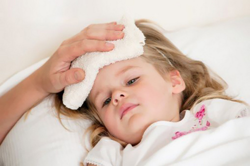 Snot and runny nose in a child, the temperature, treatment