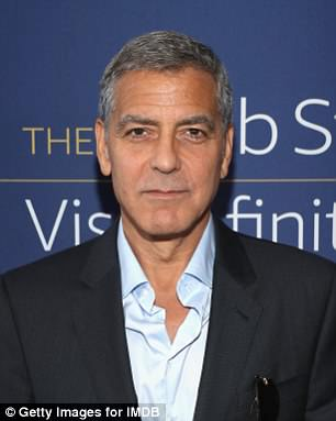 George Clooney said he first started going grey at 33