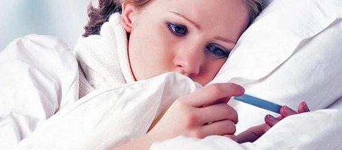 Temperature sinusitis, treatment