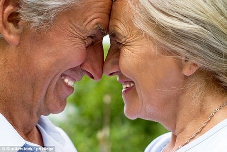 Up to 40 percent of 80-year-olds are sexually active, new research suggests (stock)