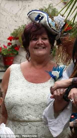 Sue Hayes, 67, was told she would die at 38