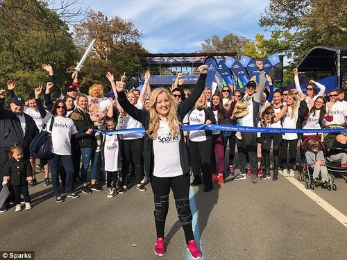 Teen with cerebral palsy finishes New York Marathon