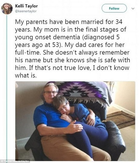 Twitter users explode over photo of mother with young-onset dementia