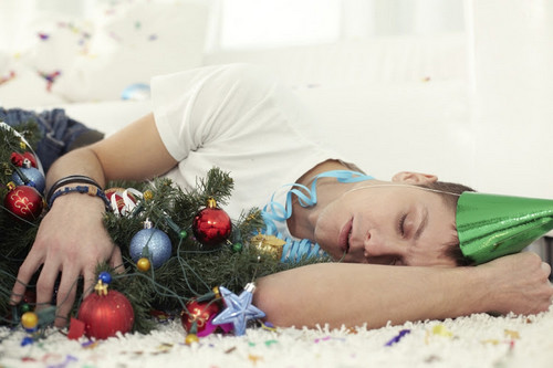 Parenting Hangovers From Holiday Parties
