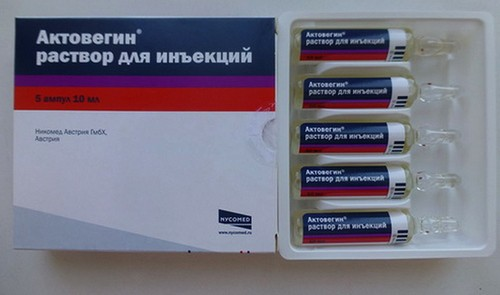 """""""Actovegin"""" in injections"""