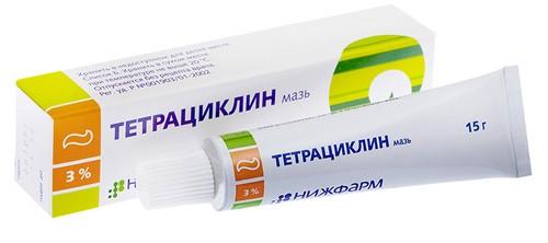 Tetracycline ointment