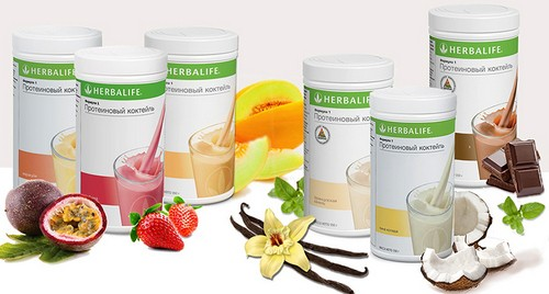 Herbalife or Energy diets, the choice of drug