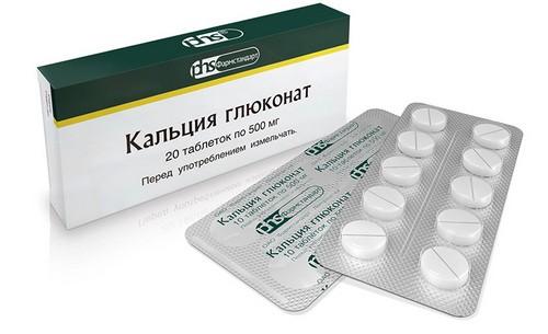Calcium Gluconate in tablet form