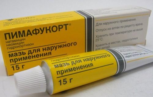 Pimafucort ointment