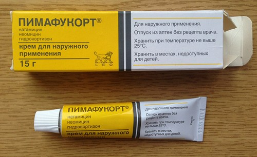Cream-shaped pimafucort