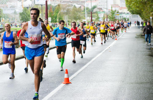 The risk of dying during the marathon