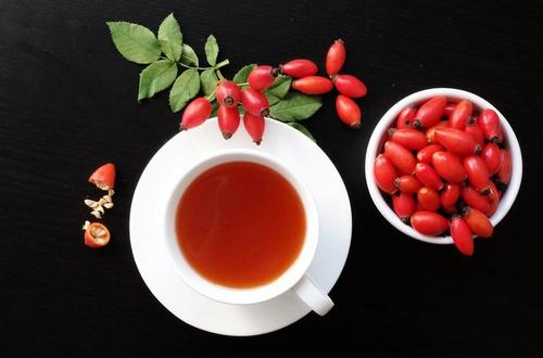 in rosehip the most vitamin C