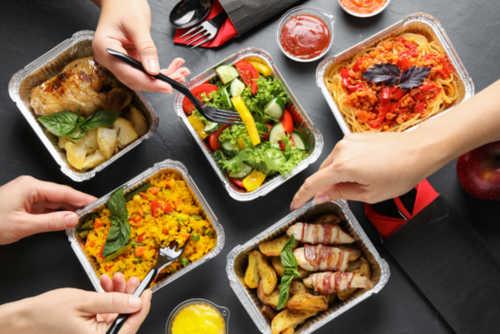 Is it safe to have food delivered?