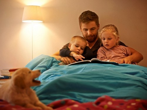Why is it important to read your baby bedtime stories?