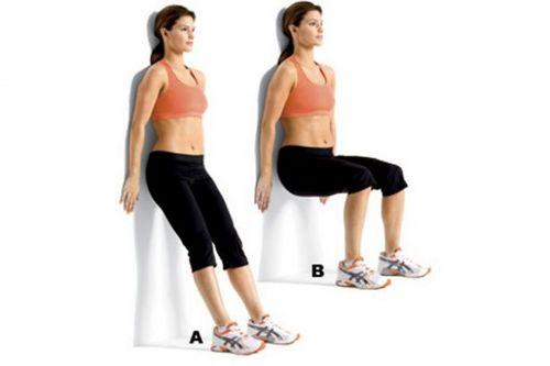 Wall Squat Exercises