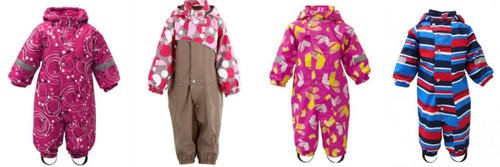 Winter overalls for children