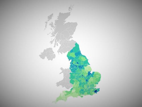 Where are Covid-19 infection rates spiking in England?
