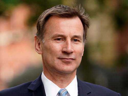 We must not allow this seminal report to gather dust on a shelf, Jeremy Hunt says