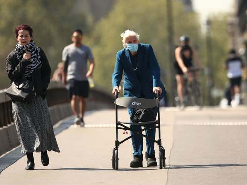 The elderly could be asked to shield again to halt second wave
